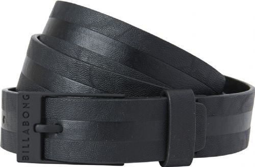 BILLABONG MENS BELT.NEW BOWER FAUX LEATHER BLACK ADJUSTABLE JEANS STRAP 7W 01 9